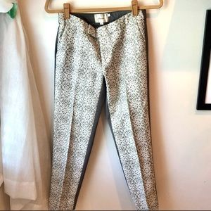 Anthro Elevenses Lace pants size 0 cropped